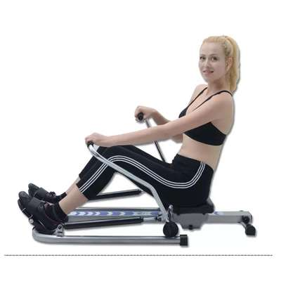 Mutifunctional Stamina Body Glider Rowing Machine indoor home exercise equipment fitness machines gym Rotating rowing machine image 4