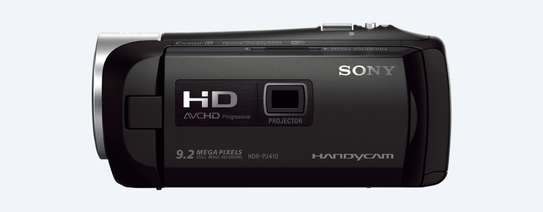 Sony HDR-PJ410 Full HD Camcorder with Built-In Projector (30x Optical Zoom, Optical SteadyShot, Wi-Fi and NFC) image 2