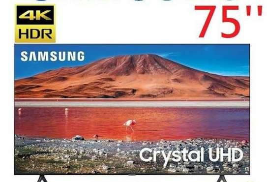 75inches Samsung smart√Tu7000 series 7√4k Uhd frameless image 1
