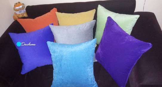 plain colored throw pillows image 1