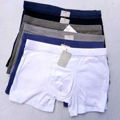All colors assorted fashion 6 pack men's cotton boxers image 1