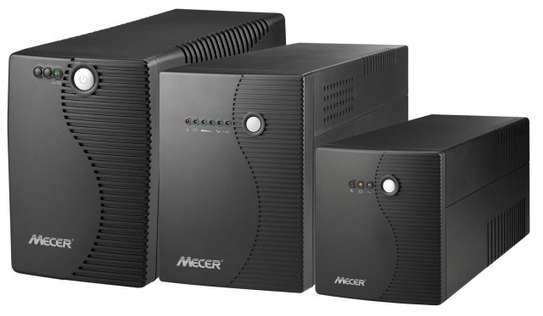 MECER 2KVA(2000VA) 1200W Line Interactive UPS Black image 2