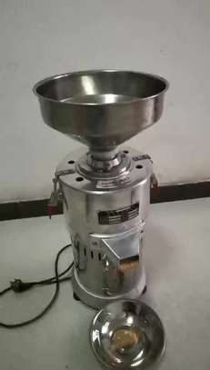 High quality 15kg/h Automatic industrial peanut butter making machine /sesame sauce grinder image 1