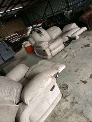 Repair, repainting and reupholstery of all imported recliners and other leather sofas image 1