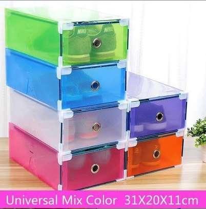 Storage boxes/shelves/shoe boxes