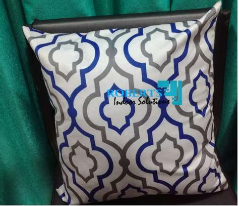 blue grey throw pillows image 1