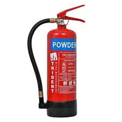 1kg Powder Fire Extinguisher With Mount Bracket image 1