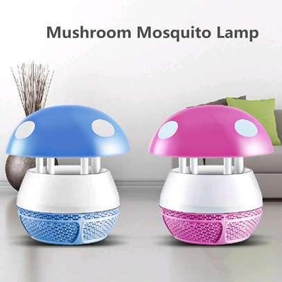 Mushroom design mosquito killer image 1