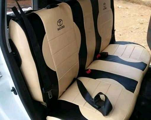 Ractis Car Seat Covers image 7