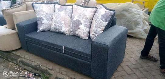 Ready Made Simple Quality 3 Seater Sofa