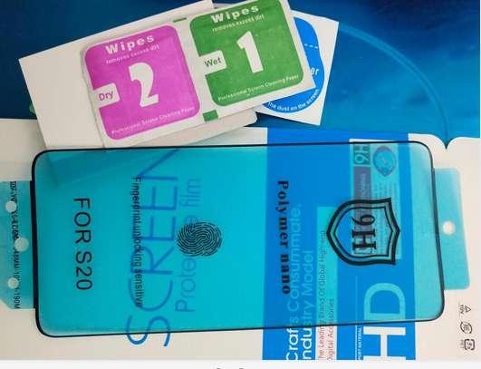 Ceramic 5D Glass Protector Flexible Anti-Break,Anti-Fingerprint for Samsung S20 S20+ S20 Ultra image 8