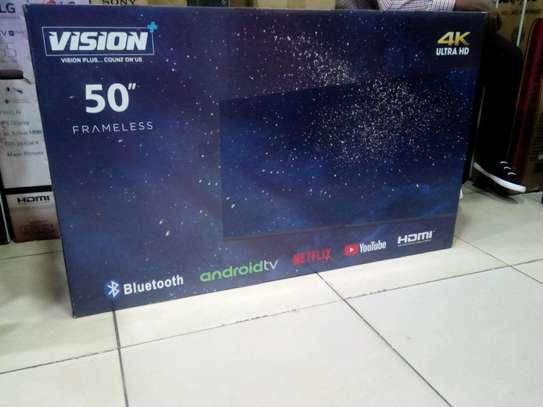 VISION 50 ANDROID FRAMELESS 4K TV image 1