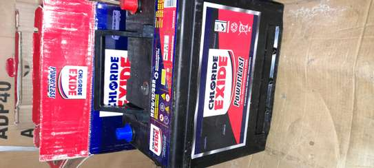 Chloride exide battery NS70 Free maintainances image 1