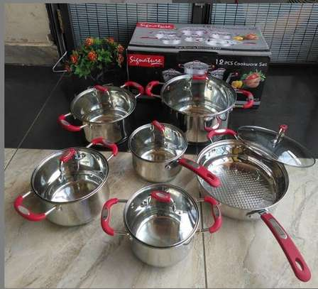 12 piece induction cookware set image 1