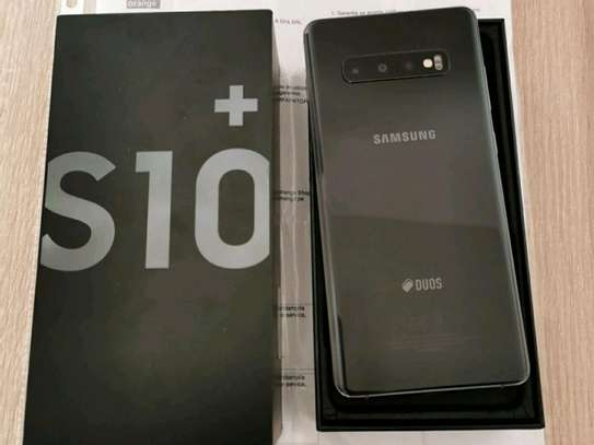 Samsung Galaxy S10 Plus [ 512 Gb Black On Warranty] image 1