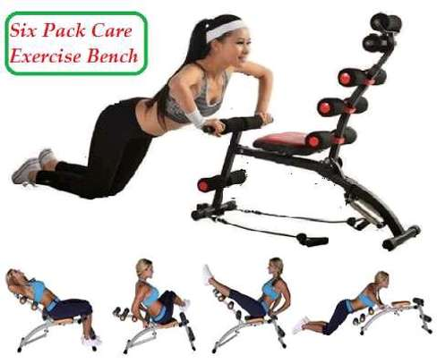 Six pack bench