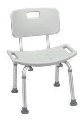 Safety Shower Chair With Height Adjustable image 1