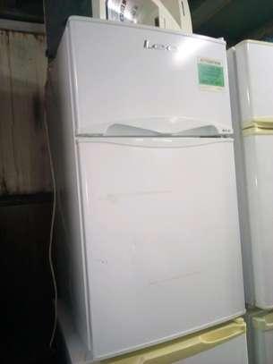 Lec double door fridge