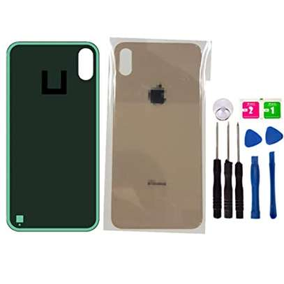 Battery Cover Replacement Back Door Housing Case For iPhone Xs Max image 2