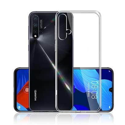 Clear TPU Soft Transparent case for Huawei Nova 5T image 4