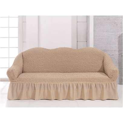 Elastic sofa cover image 6