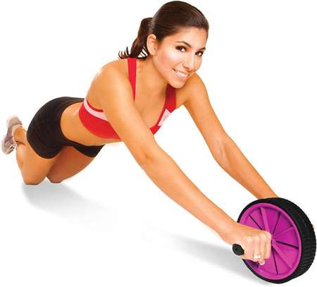 Tone Fitness Ab Roller Wheel for Abs Workout | Ab Roller | Exercise Equipment & Accessories image 1