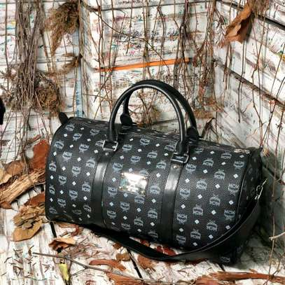 ITEM: *_Leather Duffle Bags._*???? image 2
