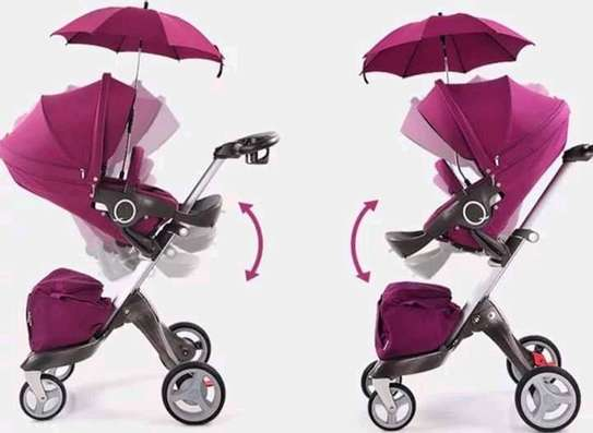 LUXUROUS TRAVEL SYSTEM - Premium Quality Stroller, A Travel Bag & Bassinet image 8