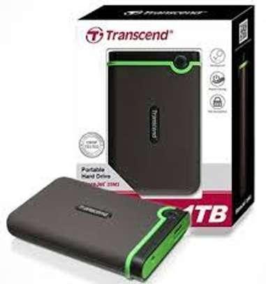 Transcend Storejet External Harddisk-1TB(1000GB) image 1