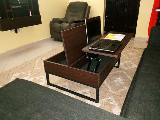Functional convertible Coffee Table image 4
