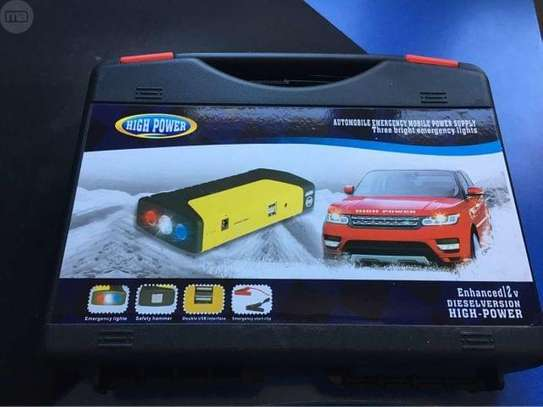 portable and rechargeable car jumpstarters