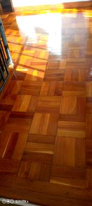 Installation . Best dustless wooden floor sanding and polishing services at affordable price image 8