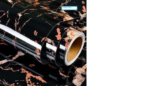 Elegant Marble Kitchen Contact paper design image 6