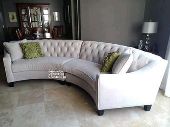 Modern tufted sofas for sale in Nairobi Kenya/curved sofas/cream sofas/sofas and Sectionals sale kenya image 1