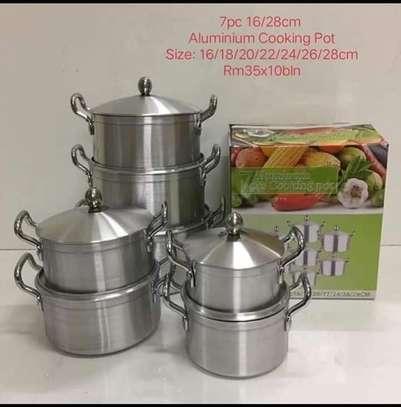 14pc Aluminium Cookware