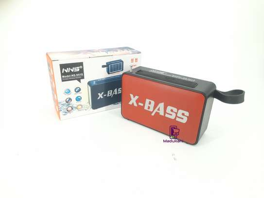 NNS NS-S51S XBASS Bluetooth FM Solar Pocket Radio image 5