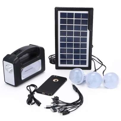 Gd Lite GD-8006-A - Solar Lighting System - Black image 2