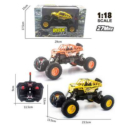 Children's remote control toy rock climber car image 1