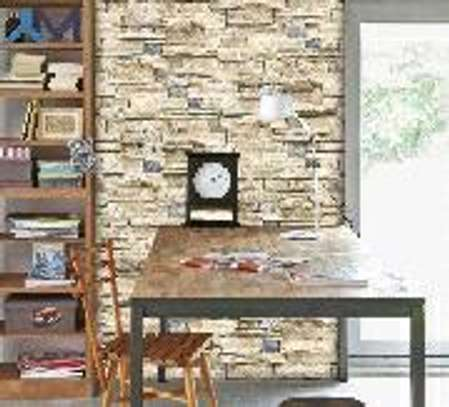 Chic brick wall papers image 2