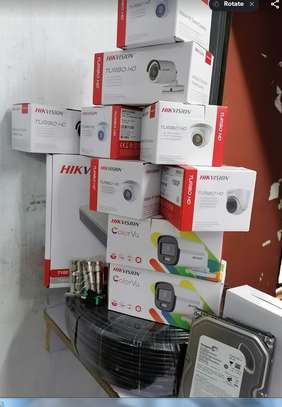 8 CCTV Complete Camera hik vision 720p image 1