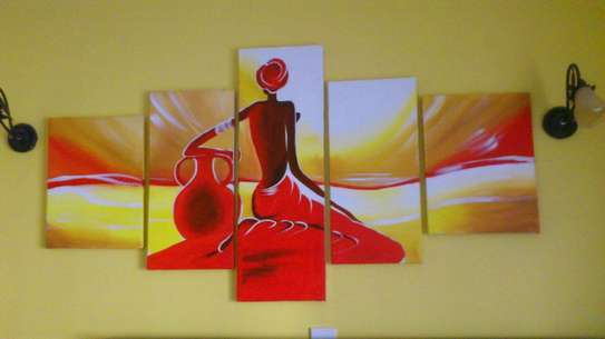 Tagged Art on Canvas image 6