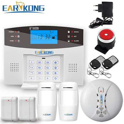 Wireless gsm home security alarm system image 1
