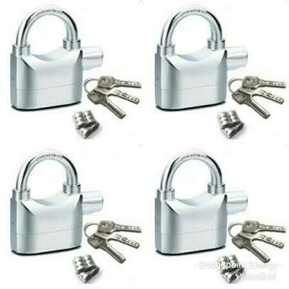 4 Pack - Kinbar Alarm Padlocks image 1