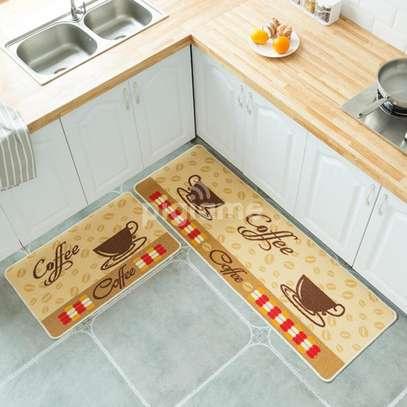 2pc Unique Kitchen Mats image 1