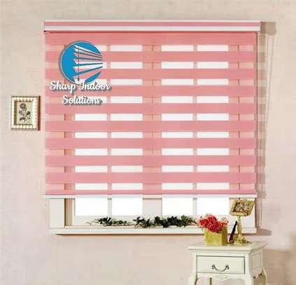 zebra polyester blinds image 3