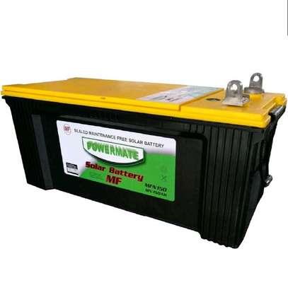Powermate 12V 150ah Solar Battery image 1