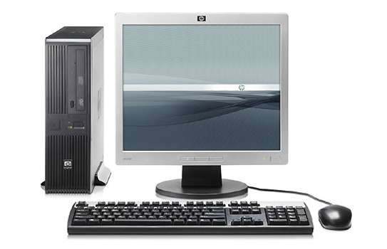 Hp CPU Complete Desktop with 17inch Tft image 2