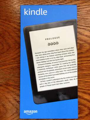 All-new Kindle - Now With A Built-in Front Light - Black image 1