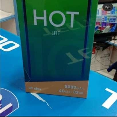 "Infinix Hot 10 Lite, 6.6"",64GB +3GB RAM ,5000mAh image 1"