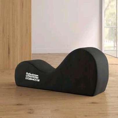 Black tantra sofas/modern sofas image 1